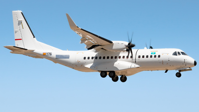 176 - Airbus C295W - Kazakhstan - Border Guard
