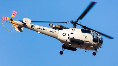 43 - Aérospatiale SA 319B Alouette III - Pakistan - Navy