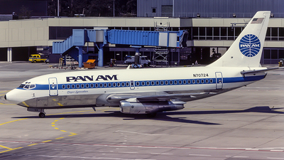N70724 - Boeing 737-297(Adv) - Pan Am