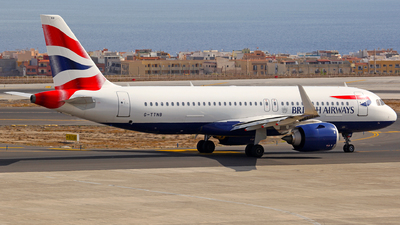 A picture of GTTNB - Airbus A320251N - British Airways - © J.M.Carballo