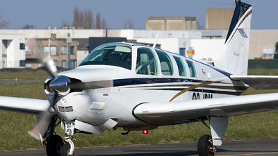 OO-JBM - Beechcraft A36 Bonanza - Private