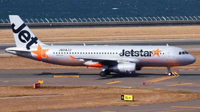 JA04JJ - Airbus A320-232 - Jetstar Japan Airlines