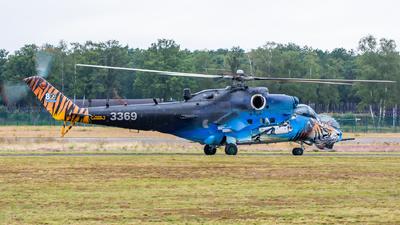 3369 - Mil Mi-35M Hind - Czech Republic - Air Force
