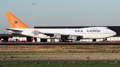 ZS-SAR - Boeing 747-244B(SF) - South African Airways