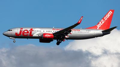 A picture of GGDFX - Boeing 7378K5 - Jet2 - © Renato Serra Fonseca