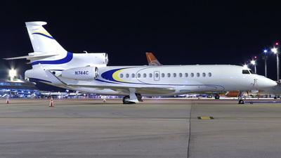 N744C - Dassault Falcon 8X - Private