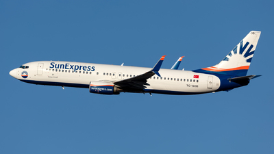 A picture of TCSOB - Boeing 7378HC - SunExpress - © Hanjo Schrenk