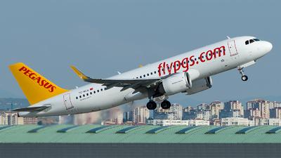 TC-NCA - Airbus A320-251N - Pegasus Airlines