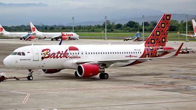 PK-LUF - Airbus A320-214 - Batik Air
