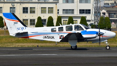 JA51UK - Beechcraft G58 Baron - Sojo University