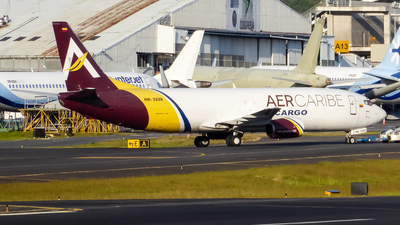 A picture of HK5228 - Boeing 7374B6(SF) - AerCaribe - © Michael Sanabria Rosales