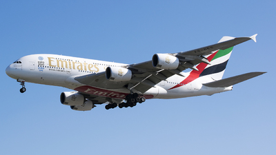 A6-EEC - Airbus A380-861 - Emirates