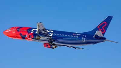 A picture of CGGWV - Boeing 7374Y0 - Nolinor Aviation - © Mark Brandon
