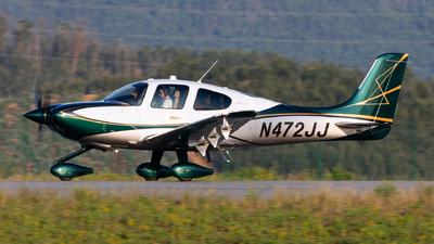 N472JJ - Cirrus SR22T-GTS G6 Arrivee - Cirrus Design Corporation