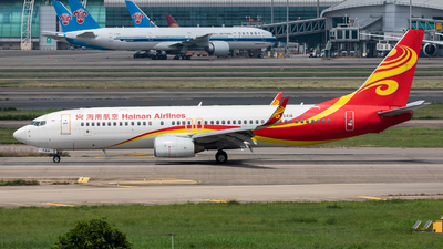 A picture of B5418 - Boeing 73786N - Hainan Airlines - © Jack  Li