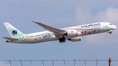 A picture of XAADL - Boeing 7879 Dreamliner - Aeromexico - © Ricardo Muñoz Ramos