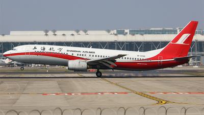 B-5130 - Boeing 737-8Q8 - Shanghai Airlines