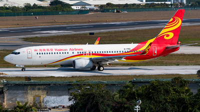 B-1793 - Boeing 737-86J - Hainan Airlines