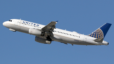 N484UA - Airbus A320-232 - United Airlines