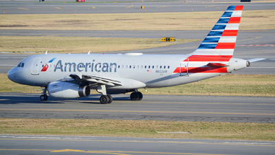 A picture of N802AW - Airbus A319132 - American Airlines - © Jake Sevigny - kmht.jake