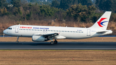 A picture of B6696 - Airbus A320232 - China Eastern Airlines - © SunnyZUUU