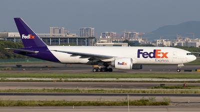 N876FD - Boeing 777-F - FedEx