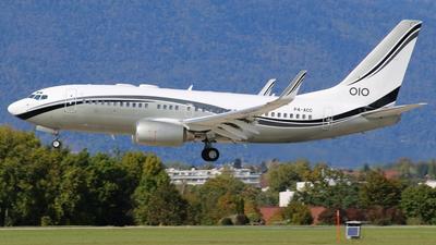 P4-ACC - Boeing 737-74Q(BBJ) - Aviation Horizons