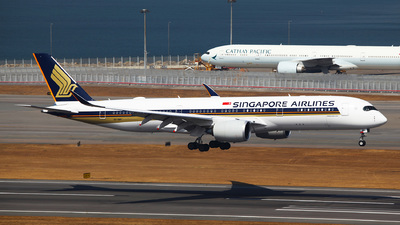 9V-SMV - Airbus A350-941 - Singapore Airlines