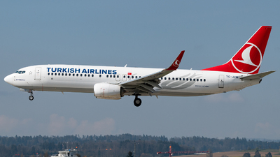 A picture of TCJVM - Boeing 7378F2 - Turkish Airlines - © Christian Kruhl