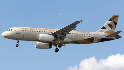 A picture of A6EIM - Airbus A320232 - Etihad Airways - © Łukasz Stawiarz