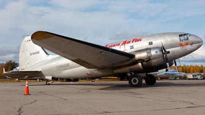 N7848B - Curtiss C-46R Commando - Everts Air Fuel