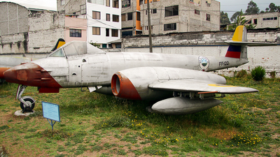 FF-122 - Gloster Meteor FR.9 - Ecuador - Air Force