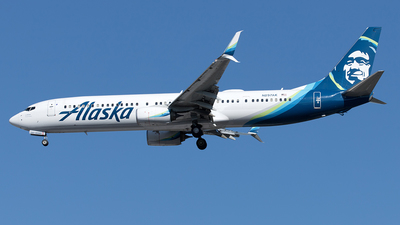 A picture of N297AK - Boeing 737990(ER) - Alaska Airlines - © Yixin Chen