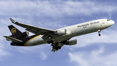 A picture of N259UP - McDonnell Douglas MD11F - UPS Airlines - © Kerrigan_Aviation_NJ