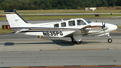 N635PG - Beechcraft 58 Baron - Private