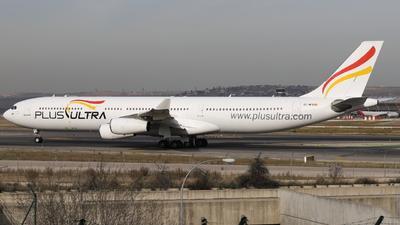 EC-MFB - Airbus A340-313X - Plus Ultra Líneas Aéreas