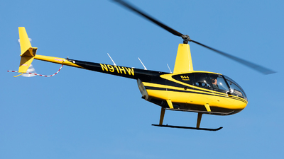 N91HW - Robinson R44 Raven - Private