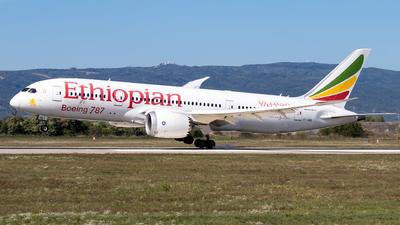 ET-AOQ - Boeing 787-8 Dreamliner - Ethiopian Airlines