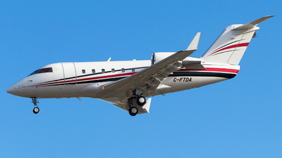C-FTDA - Bombardier CL-600-2B16 Challenger 601 - Chartright Air