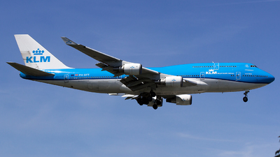 PH-BFT - Boeing 747-406 - KLM Royal Dutch Airlines