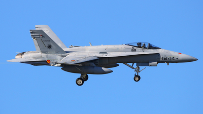 C.15-56 - McDonnell Douglas EF-18A+ Hornet - Spain - Air Force