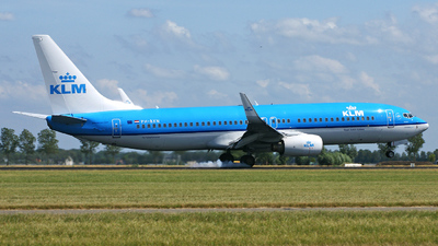 PH-BXN - Boeing 737-8K2 - KLM Royal Dutch Airlines