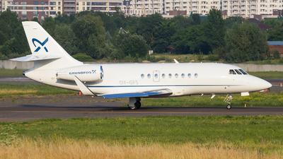 OY-GFS - Dassault Falcon 2000LXS - Air Alsie
