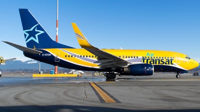 A picture of CGYQV - Boeing 73773V - [32414] - © Derek MacPherson