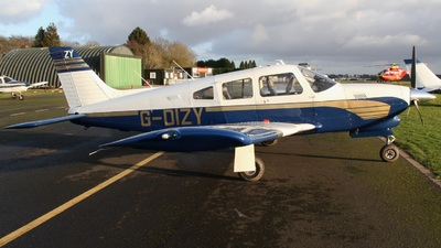 G-DIZY - Piper PA-28R-201T Turbo Cherokee Arrow III - Private