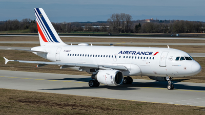 A picture of FGRXF - Airbus A319111 - Air France - © Timo Frisch