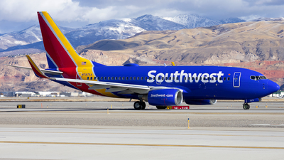 A picture of N7875A - Boeing 7377Q8 - Southwest Airlines - © Michael Rodeback