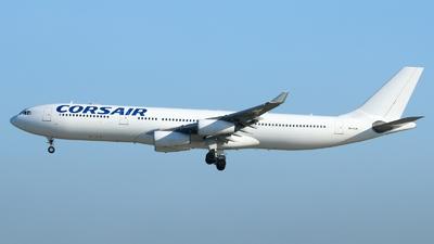 9H-SUN - Airbus A340-313X - Corsair (Hifly Malta)