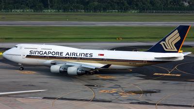 9V-SPQ - Boeing 747-412 - Singapore Airlines