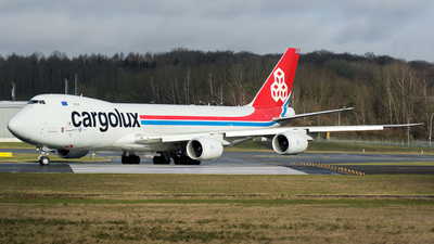 LX-VCG - Boeing 747-8R7F - Cargolux Airlines International